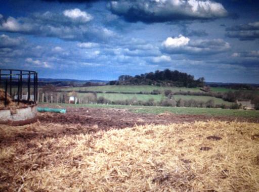Harrowdown Hill, Oxfordshire, in a still from Patrick Keiller's 'Robinson in Ruins' (2010)