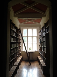 The library at Gregynog. You definitely would, wouldn't you?