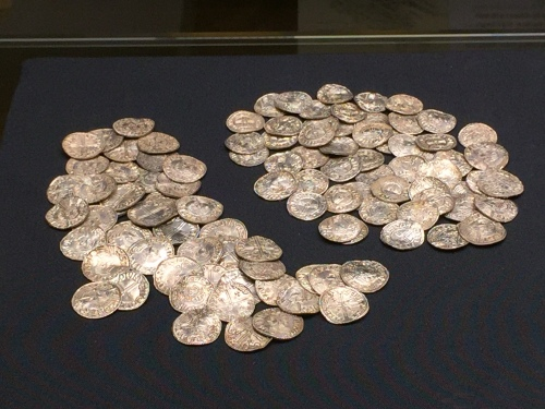 The selected highlights of the Lenborough Hoard on display in the British Museum