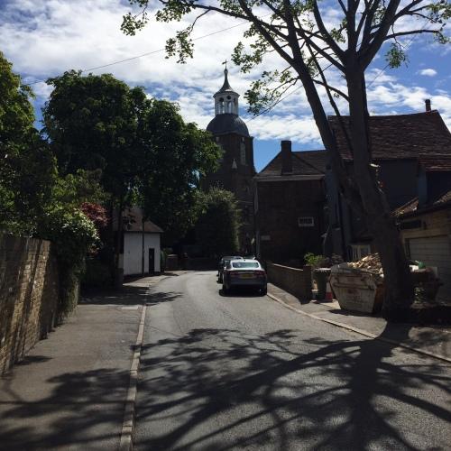 The heart of historic Eliopoleos, sorry, Sunbury