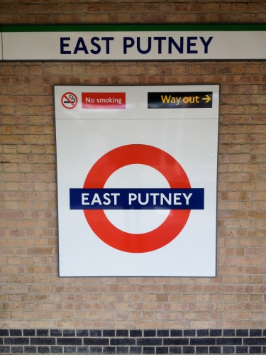 Thematically and geographically, this is nearest thing I have to a photo of Putney