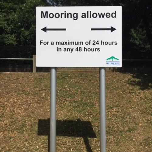 Sunbury mooring