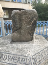 North face of the Coronation Stone