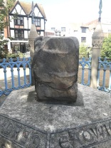 West face of the Coronation Stone