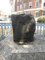 South face of the Coronation Stone